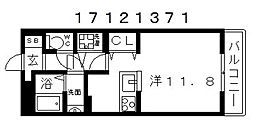シャーメゾンサワヴィラージュ[3階]の間取り