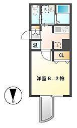 WILL鶴舞[4階]の間取り