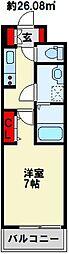 カルフール千防[2階]の間取り