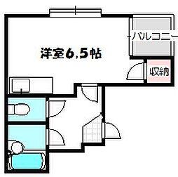 大阪府守口市大門町の賃貸マンションの間取り