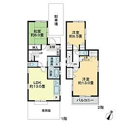[一戸建] 東京都練馬区大泉学園町1丁目 の賃貸【/】の間取り