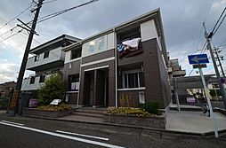 愛知県名古屋市中川区八熊3丁目の賃貸アパートの外観