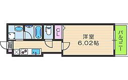 Kalmia北梅田[5階]の間取り