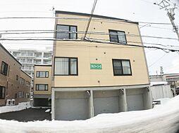 北海道札幌市西区八軒五条西3丁目の賃貸アパートの外観