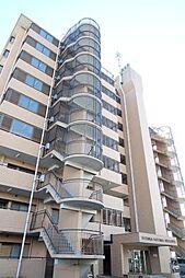 日高鹿山ハイツ[8階]の外観