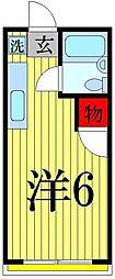 ツジハイム2[202号室]の間取り