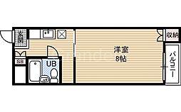 城東コーポ[2階]の間取り