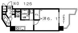 SWISS 天王寺I[8階]の間取り