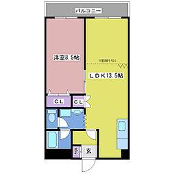 YKビル[4階]の間取り