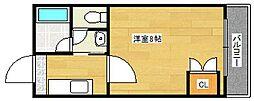 S&J 1st[5階]の間取り