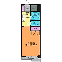 シャルマンコート[6階]の間取り