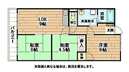 富士山荘[1階]の間取り