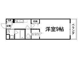 紫竹舘[3階]の間取り
