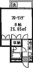 ハイツケンジ[204号室]の間取り