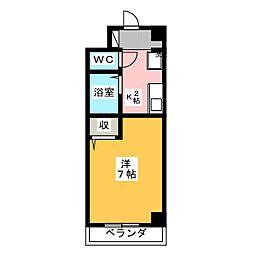 長谷川17番館[1階]の間取り