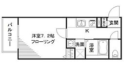 グリーニエ西新宿参番館[2階]の間取り