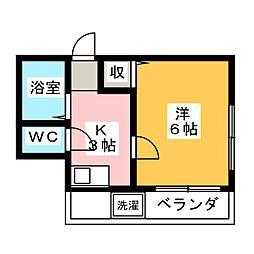 松輝ビル[5階]の間取り