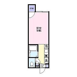 ノギハウス[1階]の間取り