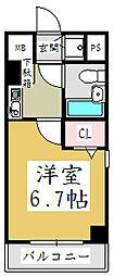 ライオンズマンション西川口第11[7階]の間取り