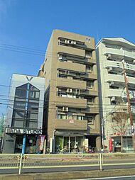 クレスト東田辺[4階]の外観