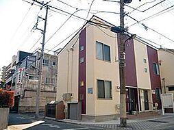 東京都足立区新田3丁目の賃貸アパートの外観