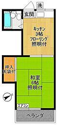 ハイツMIKI〜ハイツミキ〜[2階]の間取り