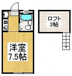 エジャンスTK[1階]の間取り