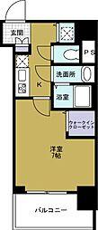 セオリー大阪ベイステージ[7階]の間取り