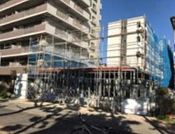 千葉県千葉市美浜区稲毛海岸5の賃貸マンションの外観