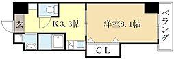 コルティーレK6[2階]の間取り