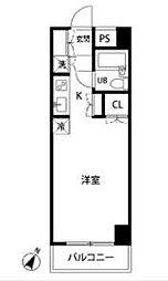 ジェイステージ生田[4階]の間取り
