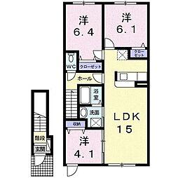 蔵Ⅲ[2階]の間取り