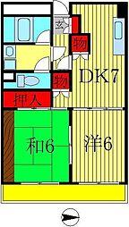 メゾン・ド・アイ弐番館[5階]の間取り