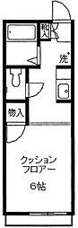 コモハウス2[203号室]の間取り