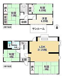 生駒駅 1,780万円
