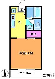 サンライズコート2[2階]の間取り