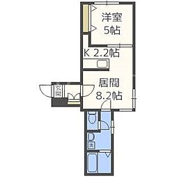 クリスタル・セレニティ[4階]の間取り