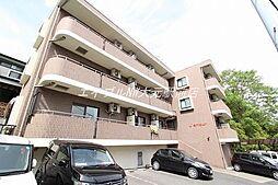 岡山県岡山市北区岩井宮裏の賃貸マンションの外観