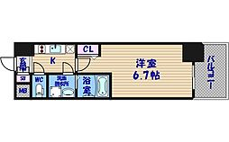 エスリード阿波座レジデンス[5階]の間取り