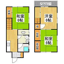 [一戸建] 長野県松本市高宮中 の賃貸【/】の間取り