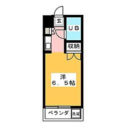 メゾン・ド・セゾン[1階]の間取り