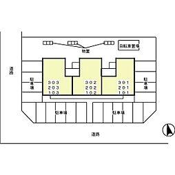 リビングタウン金沢福増[301号室]の外観