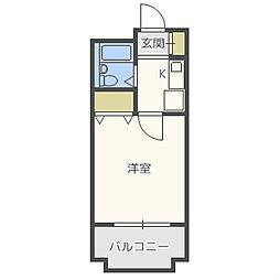 セレッソコート大阪城前[3階]の間取り