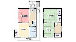 [一戸建] 兵庫県西宮市今津上野町 の賃貸【/】の間取り