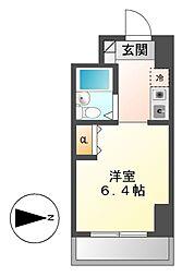 シティパル名古屋[8階]の間取り