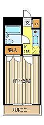 東和プラザC館[2階]の間取り