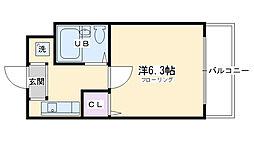 七条駅 4.5万円