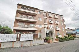 岡山県岡山市北区三野3丁目の賃貸マンションの外観