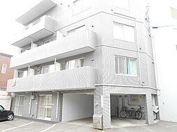 北海道札幌市豊平区月寒西三条5丁目の賃貸マンションの外観
