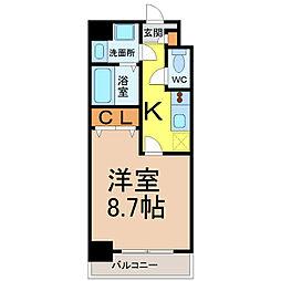PRESTAGE名駅[4階]の間取り